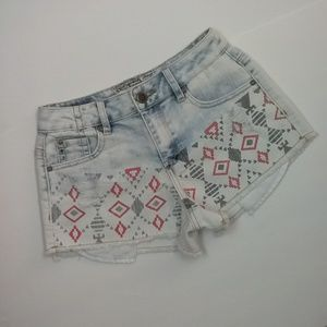 Hot Kiss Cici Distressed Jean Shorts